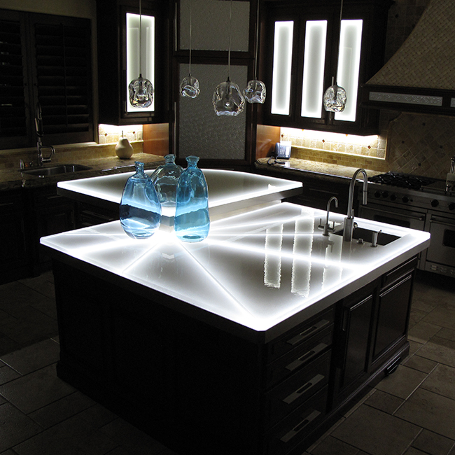 Exceptionnel Glass Bartop. COUNTERTOP