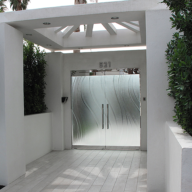 Glass Garage Door Gate Cast Glass Images