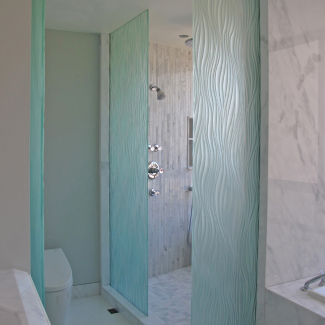 Frosted Glass Shower Doors frosted glass shower doors. bathroom divider glass frosted carved